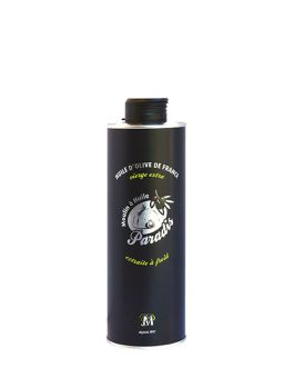 Huile d'olive – Fruité à l'ancienne 0,50L (design)