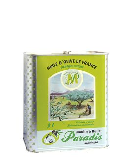 Huile d'olive – Négrette 3L (bidon fer)